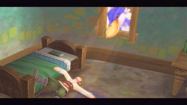"""Ermüdender Einstieg: Das typische """"Held erwacht aus dem Schlaf""""-Klischee der Zelda-Reihe."""