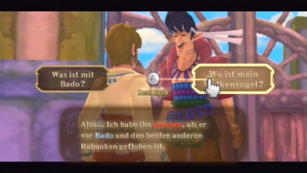 Bevor das Abenteuer beginnt, muss Link erst einmal zahlreiche Charaktere kennenlernen.