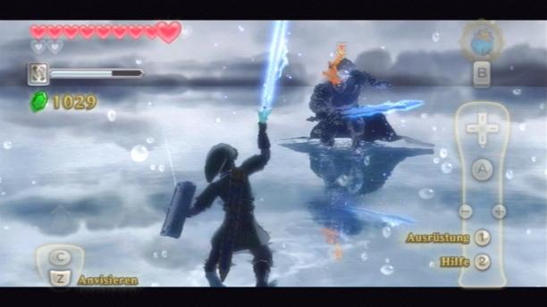 Gnadenlose Kämpfe: Der Endgegner verlangt einen präzisen Umgang mit dem Schwert.