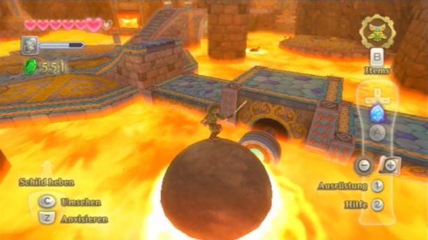 Die Dungeons in »Skyward Sword« gehören zu den besten der Zelda-Serie.