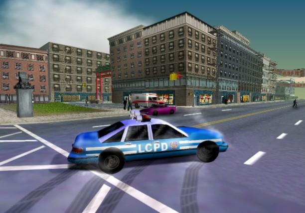 Die ursprüngliche Farbgebung der Polizeiwagen von Liberty City war angelehnt an die von New York City.